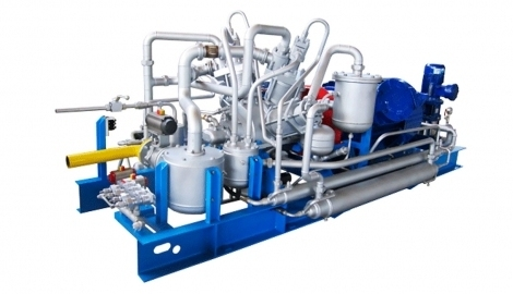 Compressors for automobile gas filling stations