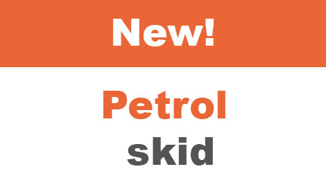 New! Petrol skid
