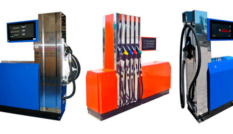 Equipment for petrol stations and oil depots
